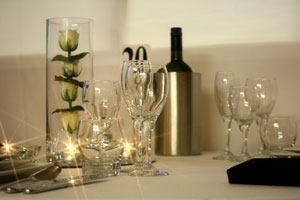 Glassware hire : Friar Tucks Catering Equipment Hire