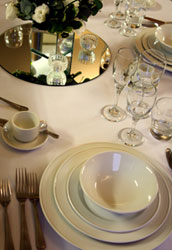 Standard crockery hire : Friar Tucks Catering Equipment Hire